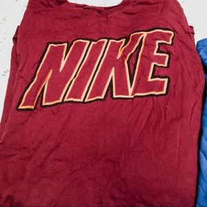 Nike Shirts - BUNDLE 2 long sleeve Nike shirts